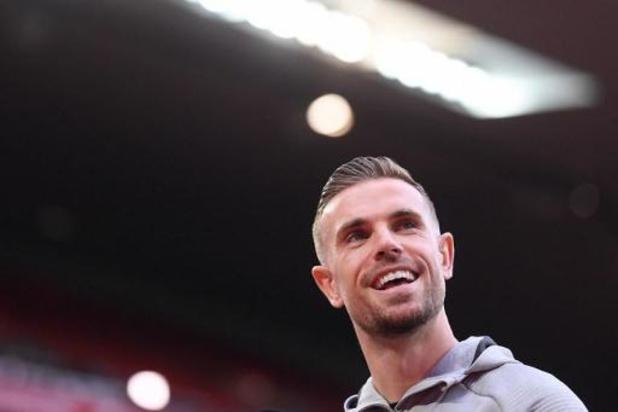 Jordan Henderson élu Joueur de la saison selon la presse anglaise et préféré à De Bruyne