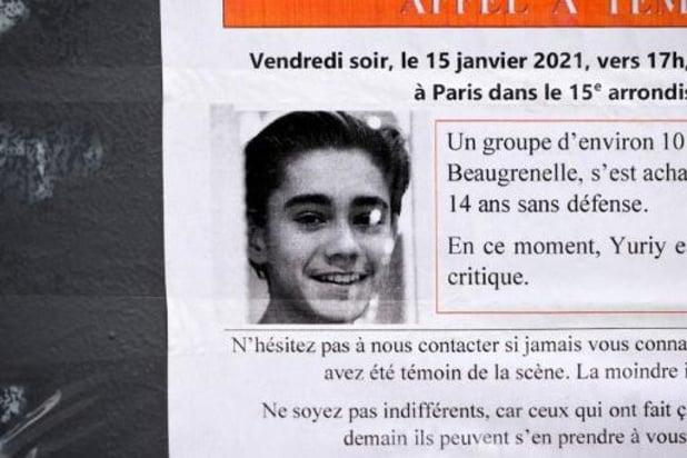 Negen Franse jongeren in beschuldiging gesteld voor zinloos geweld op 15-jarige Yuriy