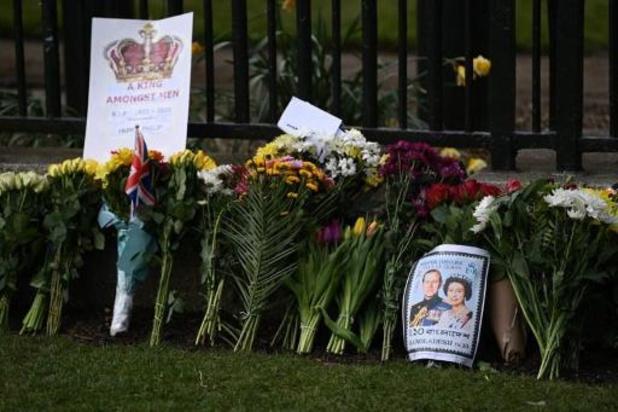 Royaume-Uni: la famille royale en civil pour l'enterrement du prince Philip