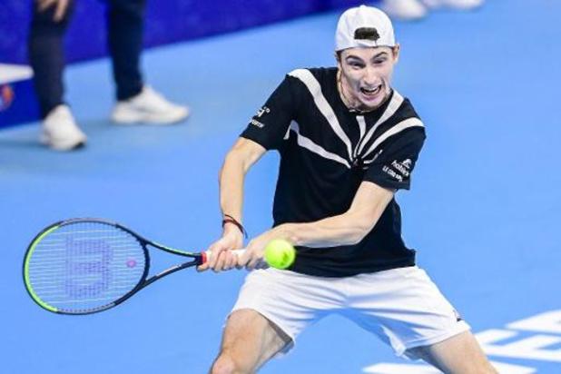 European Open - Ugo Humbert premier qualifié pour la finale à Anvers