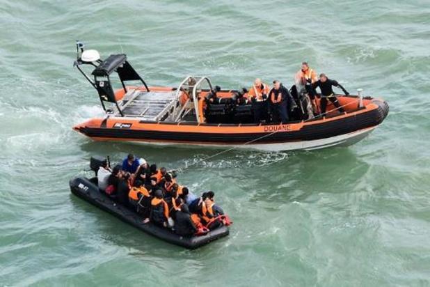 Opnieuw twintig migranten gered in Kanaal