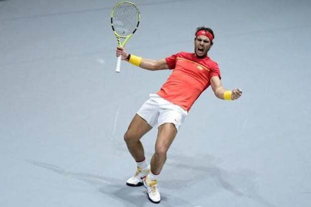 Davis Cup - Spanje bereikt halve finales
