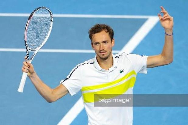 Dixième titre ATP pour Medvedev à la veille de son accession à la 2e place mondiale
