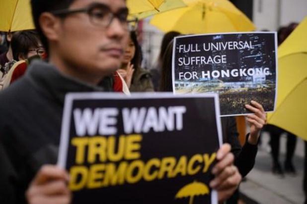 Het volk van Hongkong genomineerd voor Nobelprijs voor de Vrede van 2020