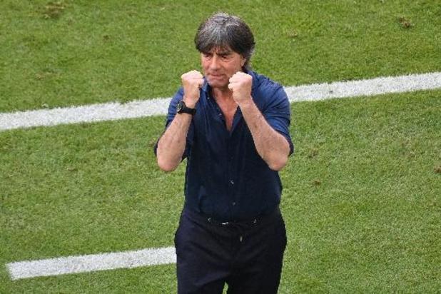 """Euro 2020 - Joachim Löw satisfait de """"la bonne attitude"""" de l'Allemagne"""