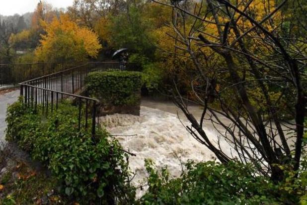 France: l'alerte rouge pluie-inondation levée dans le Var et les Alpes-Maritimes