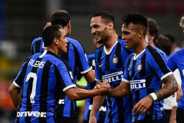 Les Belges à l'étranger - L'Inter Milan, sans Lukaku, bat le Torino et reprend la 2e place