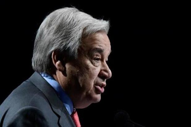 """Le chef de l'ONU appelle à """"stopper l'escalade"""" des tensions"""