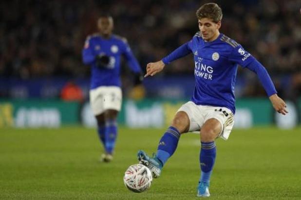 Praet à l'origine du but qui qualifie Leicester en 8e de finale de la Cup