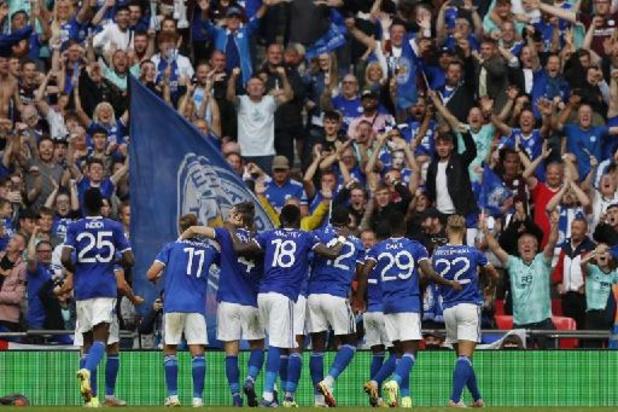 Les Belges à l'étranger - Leicester bat Manchester City et s'offre sa première Community Shield