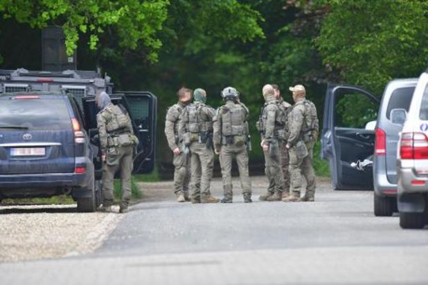 Speciale politie-eenheden hebben voorbije nacht ook in Zutendaal gezocht naar Conings