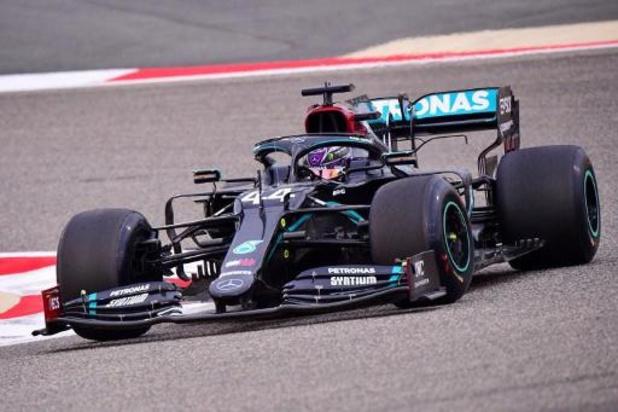 Lewis Hamilton (Mercedes) le plus rapide des premiers essais libres à Bahreïn