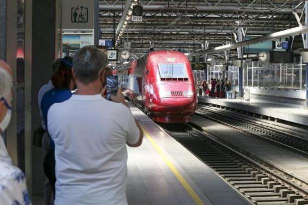 Aucun train Thalys vendredi entre la Belgique et l'Allemagne