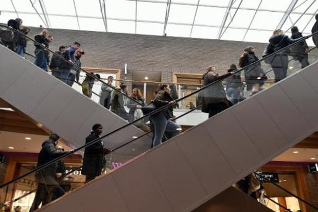 La réouverture de l'horeca entraine une hausse de la fréquentation des centres commerciaux