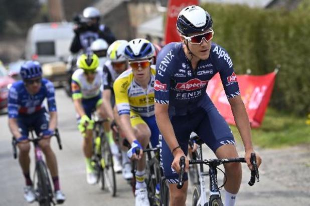 """Giro - Vervaeke toonde zich weer in aanval: """"Genoten van deze Giro"""""""