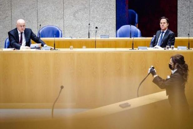 Steun voor spoedwet avondklok in Nederlands parlement