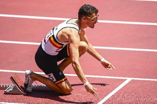 JO 2020 - Kevin Borlée avance en demi-finales du 400m en terminant deuxième de sa série