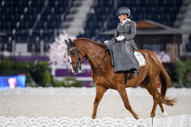 Barbara Minneci termine à la 6e place du concours individuel de grade III en équitation
