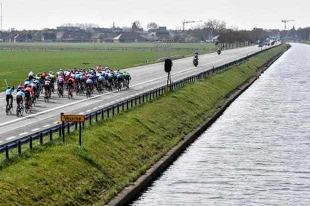 Gent-Wevelgem komt dit jaar niet in Frankrijk