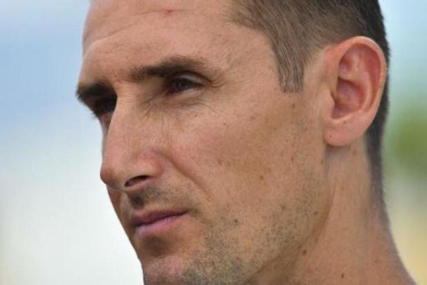 Miroslav Klose promu entraîneur-adjoint de l'équipe première du Bayern Munich