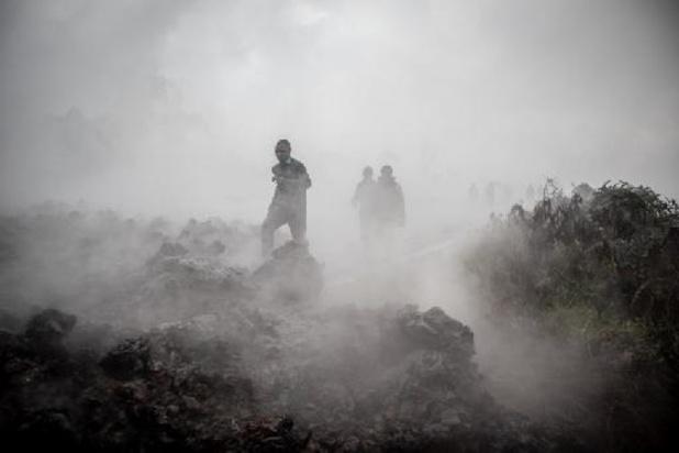 RDC: cinq personnes tuées par les gaz toxiques de la lave du Nyiragongo