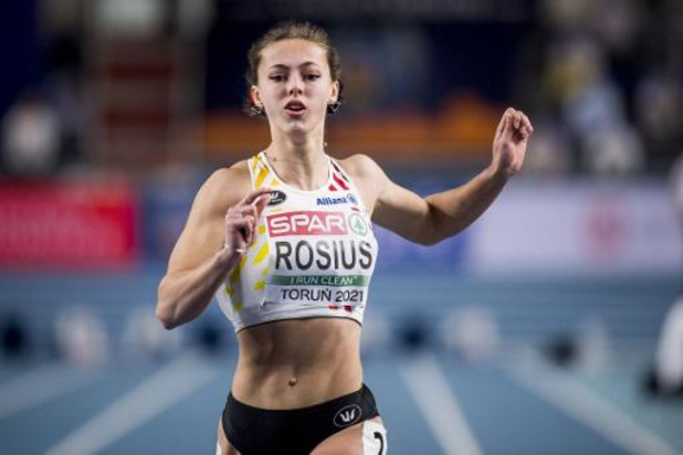 Rani Rosius grijpt naast finaleplaats 60m