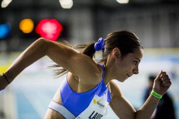 IFAM Indoor Gent - Camille Laus is snelste Belgian Cheetah, maar komt niet in de buurt van EK-limiet