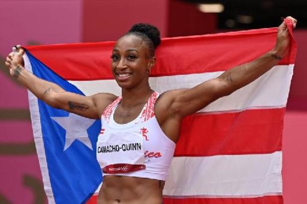 La Portoricaine Jasmine Camacho-Quinn s'adjuge le 100m haies