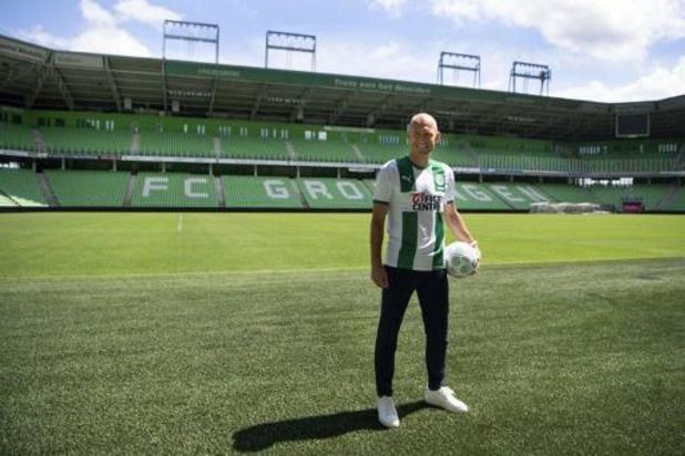Arjen Robben maakt rentree bij FC Groningen in oefenduel met Almere
