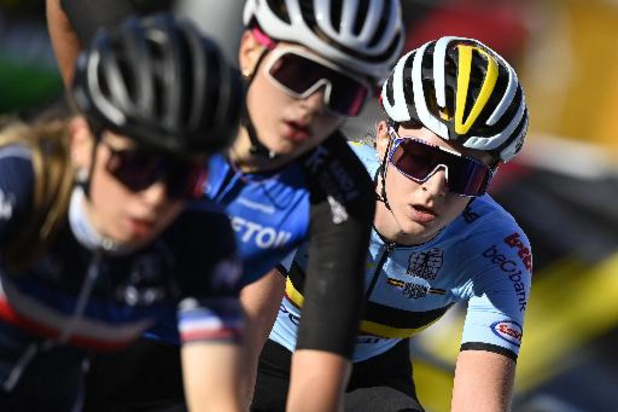 Mondiaux de cyclisme: Marith Vanhove n'avait plus les jambes pour sprinter pour le bronze