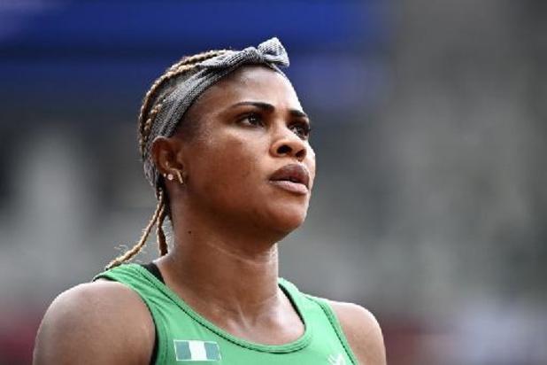 JO 2020 - La sprinteuse nigériane Okagbare suspendue pour dopage le jour de la finale du 100 m