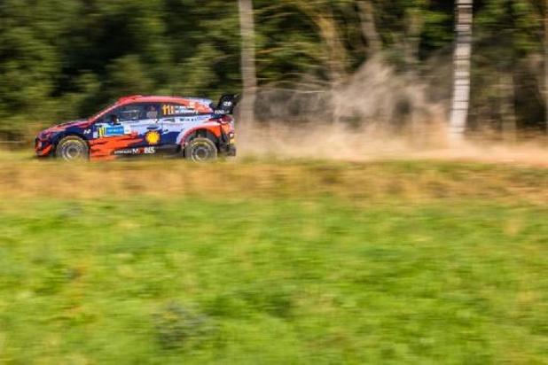 Kalle Rovanperä remporte la première spéciale, Thierry Neuville 7e ex-aequo