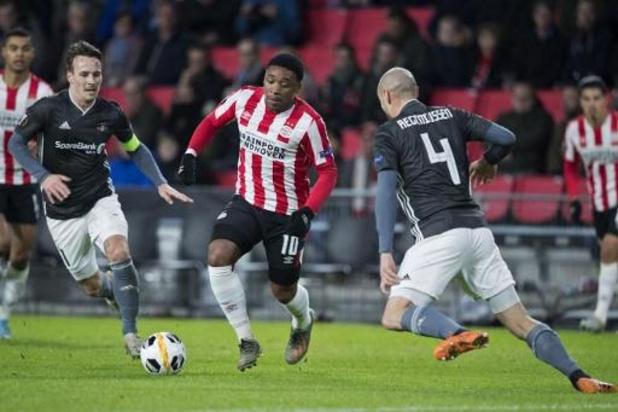 Steven Bergwijn quitte le PSV Eindhoven pour rejoindre Tottenham