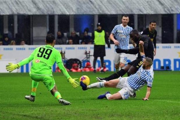 Lukaku et l'Inter bondissent en tête de Serie A, Leya Iseka buteur avec Toulouse