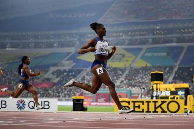 Mondiaux d'athlétisme - Dina Asher-Smith en or sur 200m en 21.88