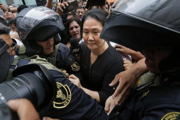 Peruaanse oppositieleidster Keiko Fujimori vrij op borgtocht