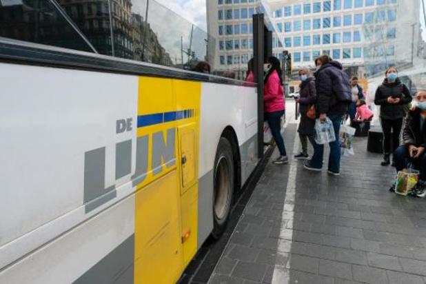 Malgré la grève, la plupart des bus et trams roulent en Flandre