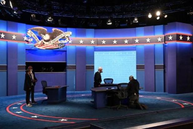 Le prochain débat présidentiel entre Trump et Biden se tiendra virtuellement