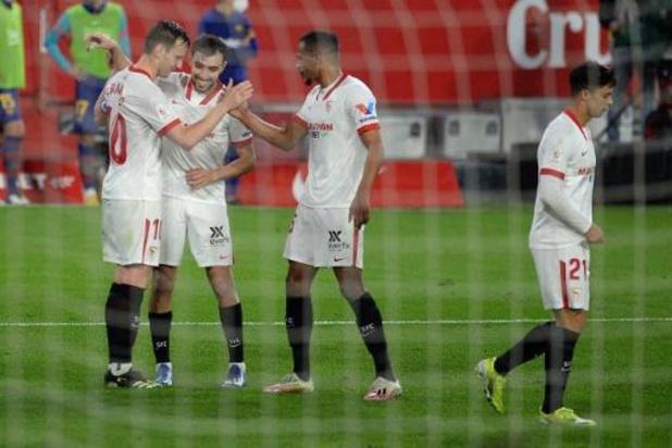 Copa del Rey - FC Barcelona flirt met uitschakeling na nederlaag in Sevilla