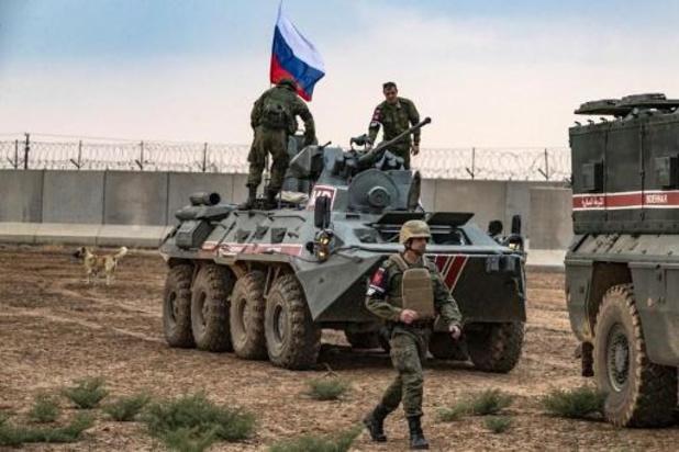 Rusland neemt vroegere Amerikaanse basis in Noord-Syrië in handen