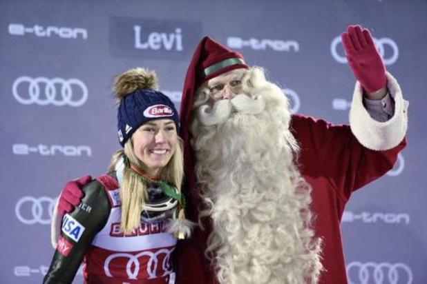 WB alpijnse ski - Mikaela Shiffrin evenaart Annemarie Moser-Pröll met 62e wereldbekerzege