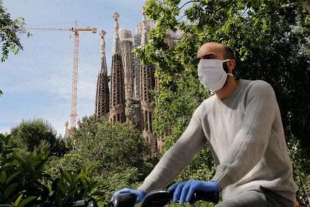 Spanje versoepelt lockdownmaatregelen ondanks 164 nieuwe sterfgevallen