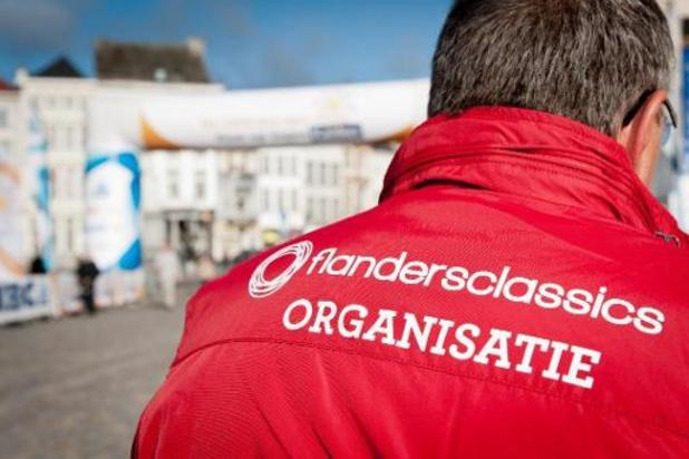 Flanders Classics se prépare à organiser de nouveau ses courses sans public en 2021