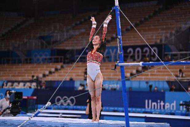 Nina Derwael schenkt België aan brug 1e goud op Tokyo2020