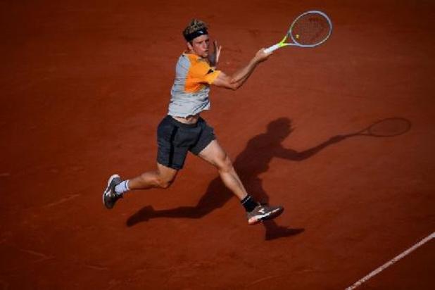 Roland-Garros - Alejandro Davidovich Fokina s'invite pour la première fois en quarts
