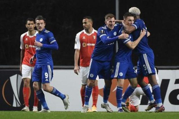 Les Belges à l'étranger - Leicester, avec Tielemans et Praet, partage à Braga et se qualfie pour les 16e de finale