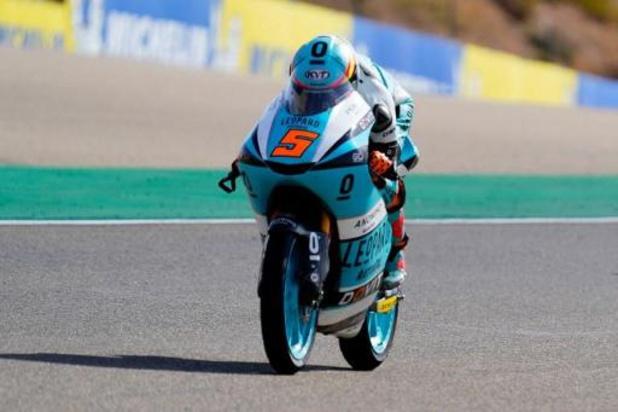 Barry Baltus 25e du Grand Prix d'Aragon