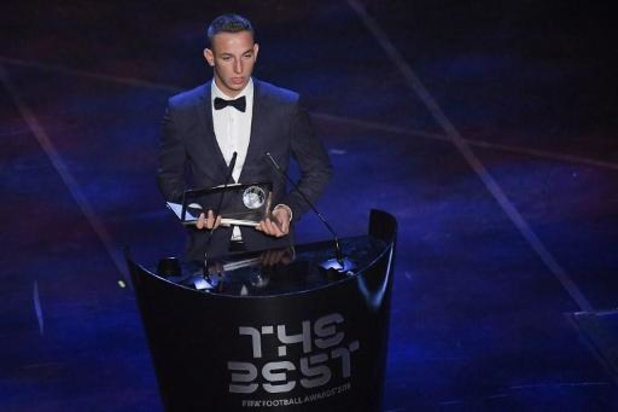 The Best FIFA Football Awards - Daniel Zsori remporte le Prix Puskas du plus beau but