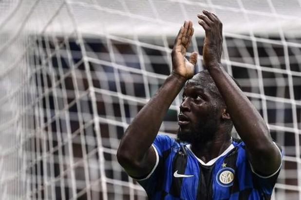 Les Belges à l'étranger - Lukaku monte au jeu lors de la victoire de l'Inter à la Sampdoria