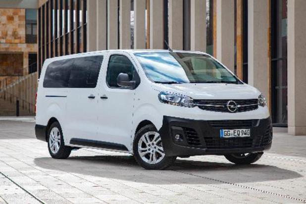 Opel maakt van Vivaro een grote MPV-versie